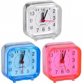 Настольные часы - будильник MINI 6×6×3 см                            2046 А