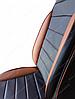 Чехлы на сиденья БМВ Е60 (BMW E60) (универсальные, кожзам, пилот СПОРТ), фото 6