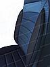 Чехлы на сиденья БМВ Е60 (BMW E60) (универсальные, кожзам, пилот СПОРТ), фото 8