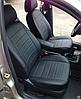 Чехлы на сиденья БМВ Е60 (BMW E60) (универсальные, экокожа, отдельный подголовник), фото 10