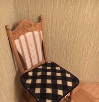 Накидка на стулья из овчины 50х50