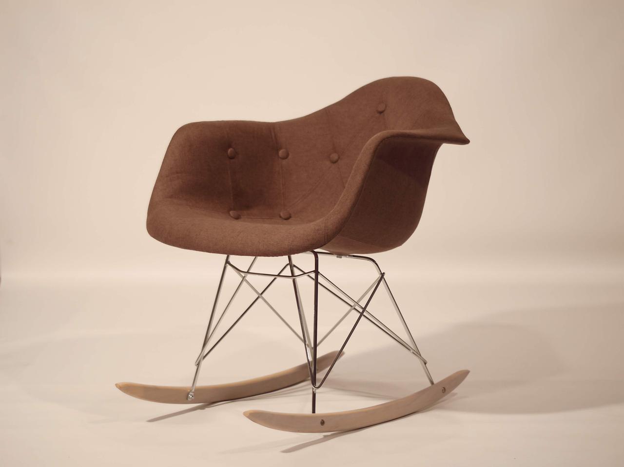 Кресло-качалка  Leon Soft Rack Вискоза, цвет коричневый