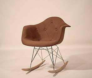 Кресло-качалка  Leon Soft Rack Вискоза, цвет коричневый, фото 2