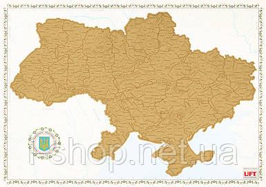 Скретч карта мира на русском языке