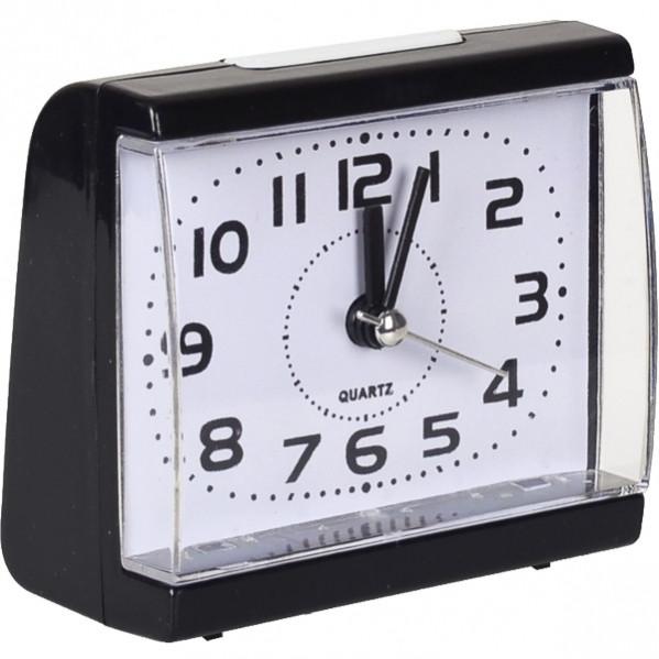 Настольные часы - будильник с кнопкой 8,5×7,5×4 см                  8831