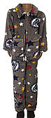 Детский костюм - пижама махра
