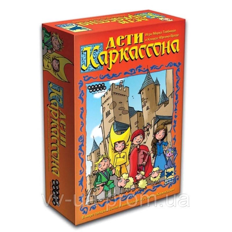 Игра настольная Hobby World Дети Каркассона (1096)