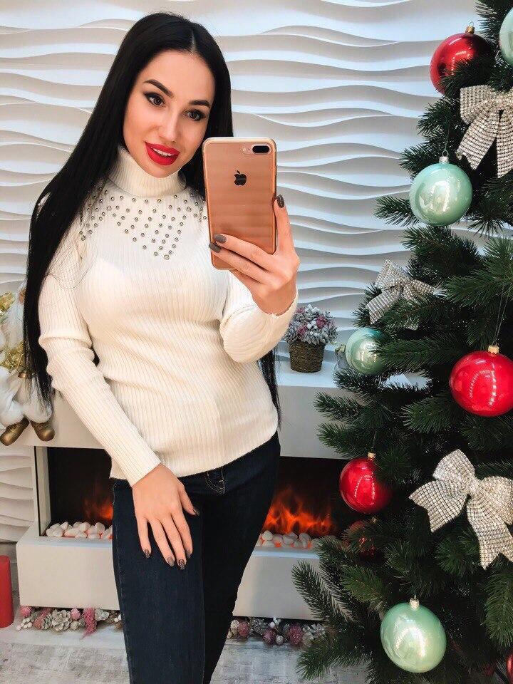 Женский модный свитер РАЗНЫЕ ЦВЕТА(Фабричный Китай ) Код 306