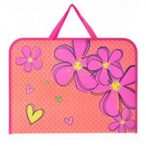 """Папка портфель пластиковый А3 1 Вересня """"Flowers"""" 491315"""
