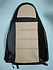 Чехлы на сиденья Шевроле Авео Т200 (Chevrolet Aveo T200) (модельные, кожзам, пилот), фото 3