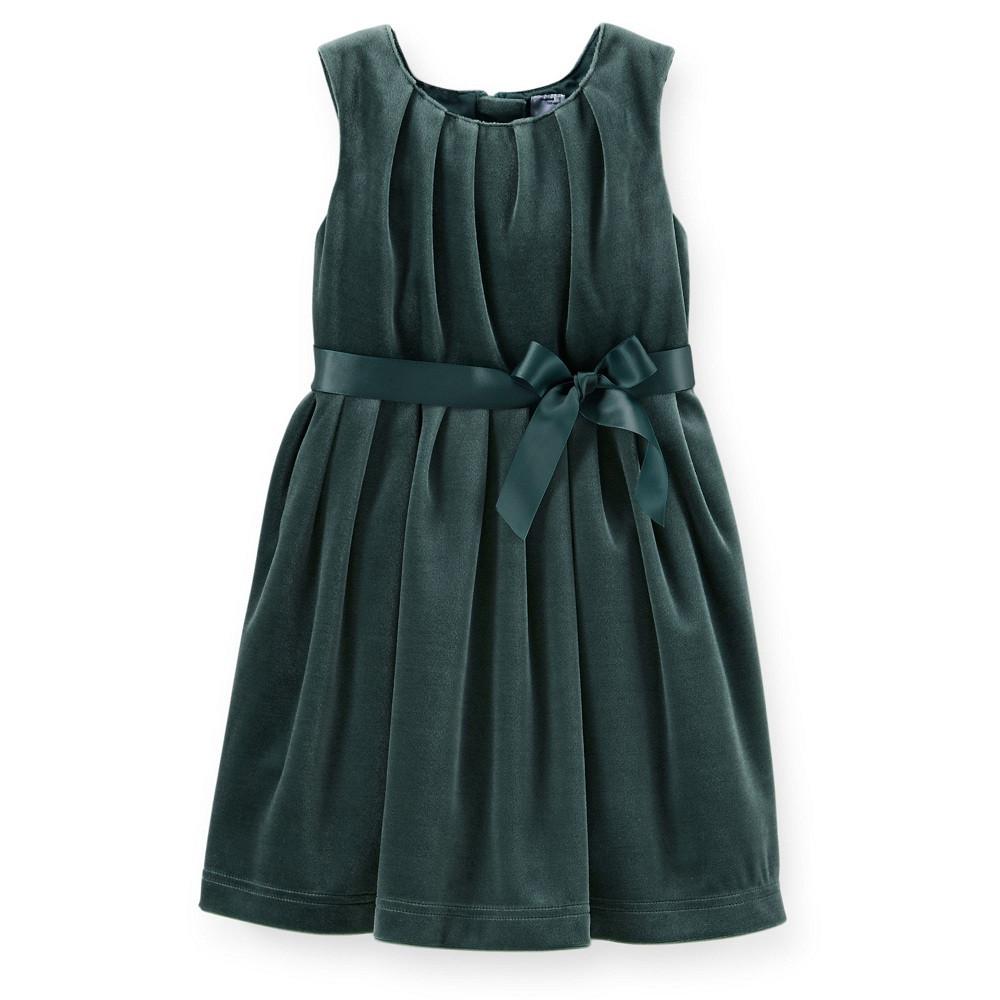 Платье велюр Картерс