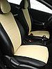 Чехлы на сиденья Шевроле Авео Т200 (Chevrolet Aveo T200) (модельные, экокожа Аригон, отдельный подголовник), фото 4