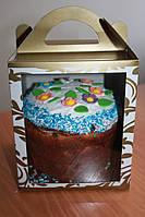 Коробка для кулича, пряничного домика, подарков, чашки 11,5х12х14 см., фото 1