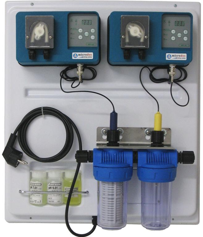 Дозирующая станция Microdos Pool Family 2 (pH 4 — Rx 4 л/ч)