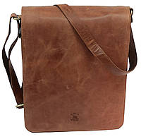 39405befd499 Купить выгодно. Мужская кожаная сумка планшетка на длинном ремешке Always  Wild TIM-42 Cognac