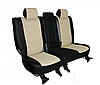 Чехлы на сиденья Шевроле Авео Т250 (Chevrolet Aveo T250) (модельные, экокожа Аригон, отдельный подголовник), фото 2