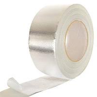 Скотч алюминиевый (армированный) уплотненная сетка 50м