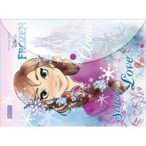 Папка-конверт на кнопке А4 1 Вересня Frozen 491216