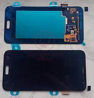 Дисплейний модуль для телефону Samsung J320H/DS Galaxy J3 (2016), чорний, AMOLED