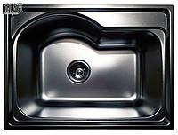 Прямоугольная кухонная врезная мойка из нержавеющей стали   Galati Elina Satin