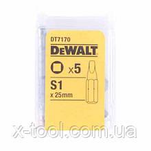 Биты TORSION S1 (5 шт.) DeWALT DT7170 (США/Германия)