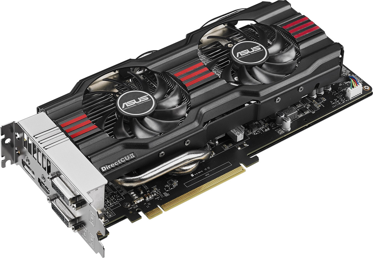 "Видеокарта ASUS GTX770 DC2OC-4GD5 GDDR5 256bit OC  ""Over-Stock"" Б/У"