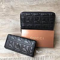 Кожаный кошелёк Gucci, фото 1