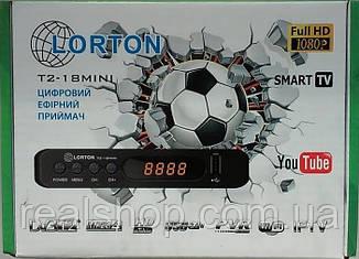 Т2 ресивер LORTON T2-18 mini HD, TV тюнер Т2 приемник