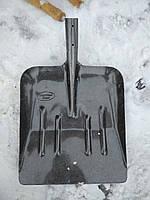 Лопата для снега Рельсовая сталь 335*380 мм.