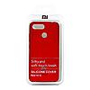 Чехол Silicone Cover для Xiaomi Redmi 6 (Red)