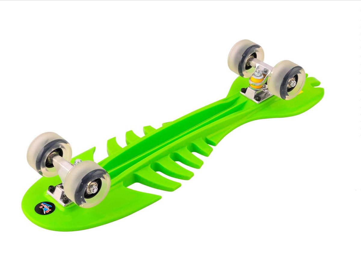 Скейт SL-F04 (6шт) PU колеса, розмір 70*20см, 4 кольори