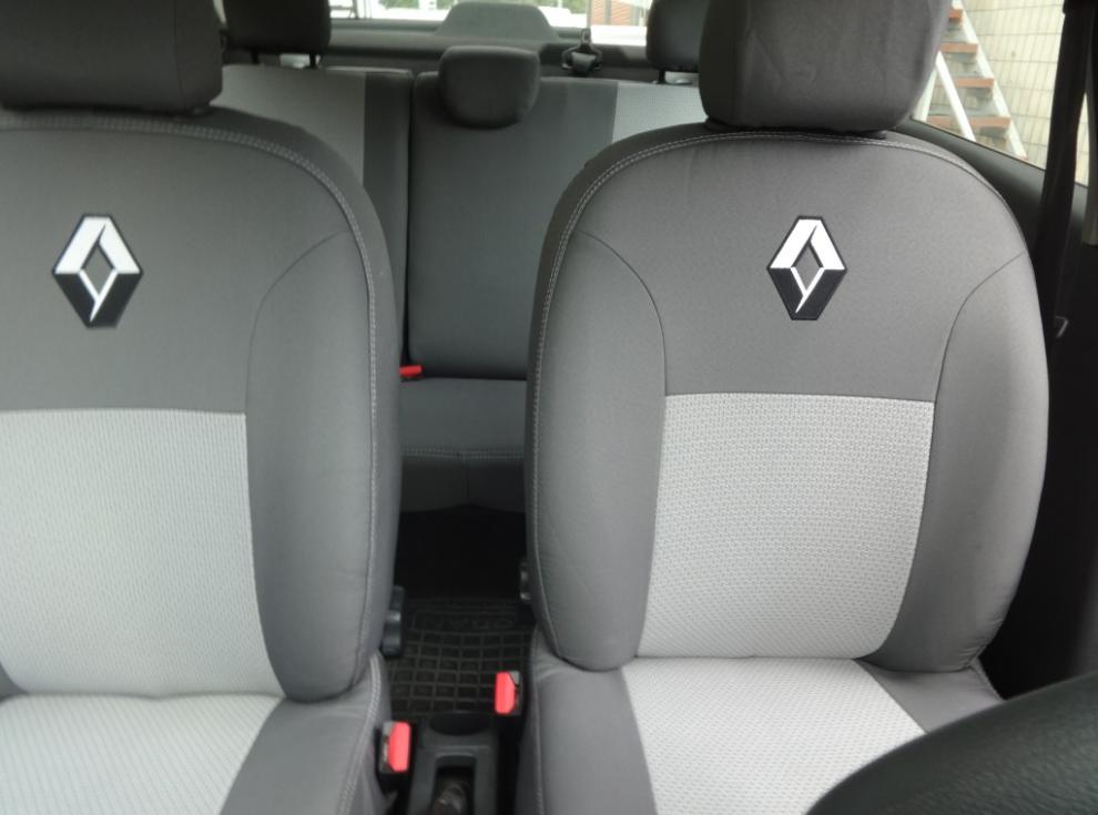 Чехлы на сиденья Шевроле Нива (Chevrolet Niva) ... - 2009 г (модельные, автоткань, отдельный подголовник)