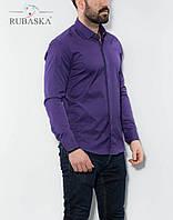 Фіолетова сорочка чоловіча