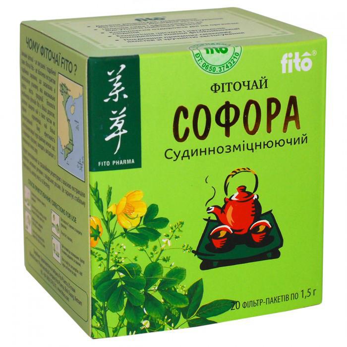 Софора фиточай fito, 20 фильтр-пакетов Сосудоукрепляющий