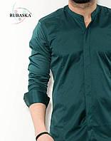 Чоловіча сорочка без коміра, фото 1