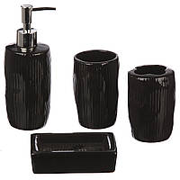 Набор для ванной комнаты 4 предмета (BS-205) Керамика