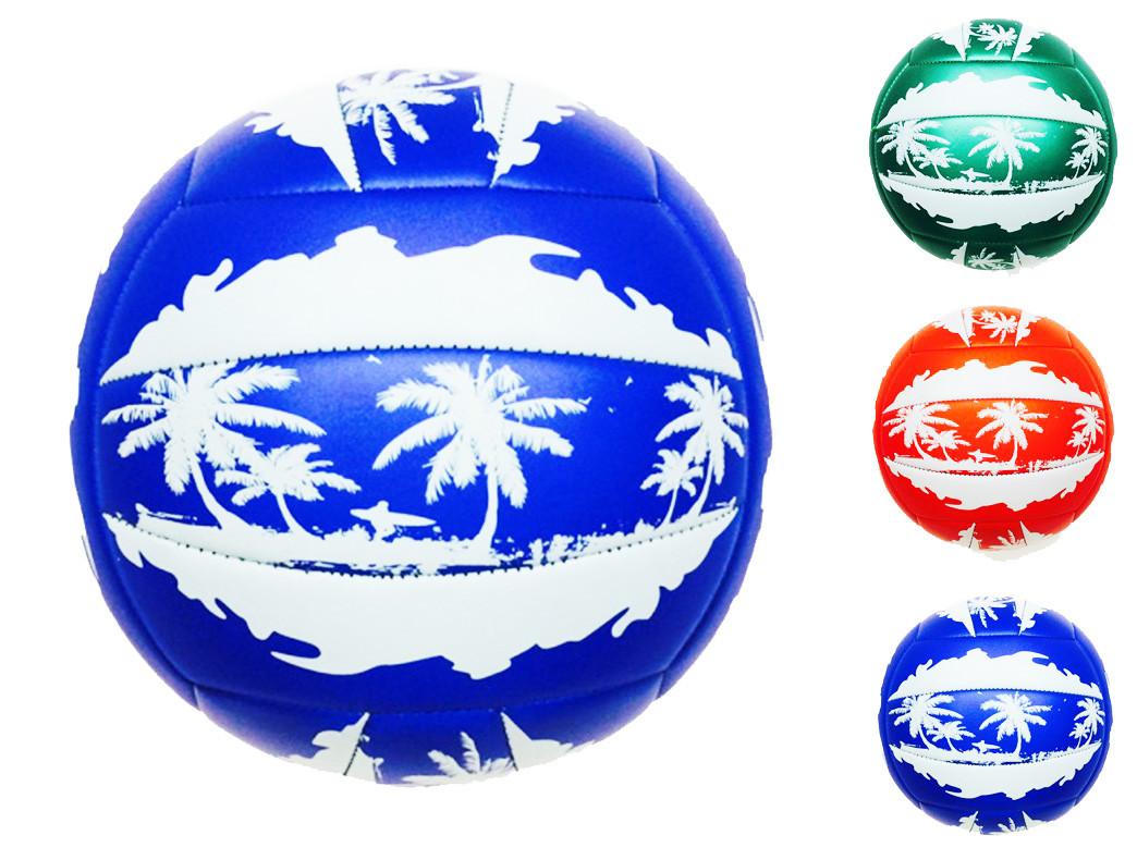 Мяч волейбол 5-0026 (30шт) 230 грамм, PVC, 2 цвета