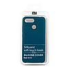 Чехол Silicone Cover для Xiaomi Redmi 6 (Blue)