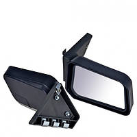 Зеркало боковое на ВАЗ 2101-2107 черное на болтах, фото 1