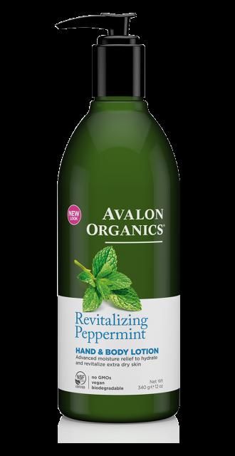 Лосьон для рук и тела «Мята» *Avalon Organics (США)*