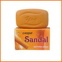 Отбеливающее натуральное мыло Сандал Gurukul (India)