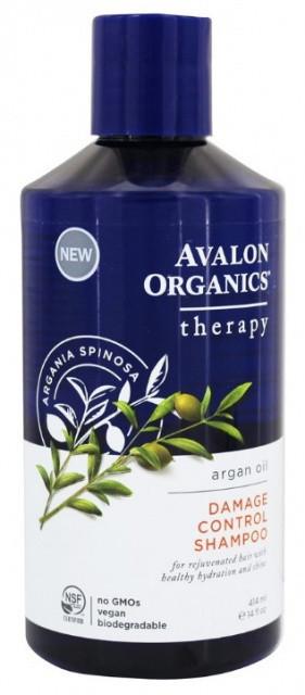 Шампунь с аргановым маслом для поврежденных волос * Avalon Organics (США)*