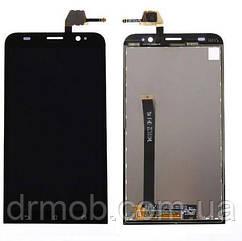 Модуль дисплея Asus ZenFone 2 (ZE551ML) + тачскрин (Модуль)  черный оригинал PRC