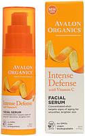 Cыворотка для кожи лица с витамином С, биофлавоноидами лимона и экстрактом белого чая * Avalon Organics (США)*