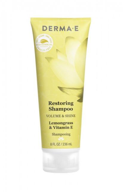 Восстанавливающий шампунь с маслом лемонграсса и витамином Е * Derma E (США) *