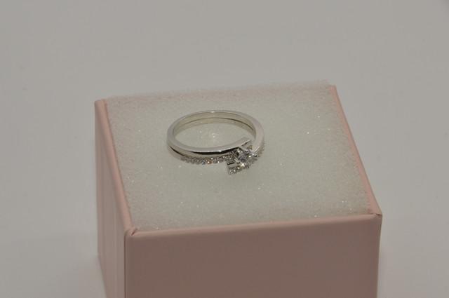 Серебряное кольцо набор