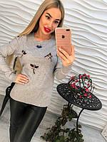 e6f758ffc18 Женский стильный свитер РАЗНЫЕ ЦВЕТА(Фабричный Китай ) Код 714
