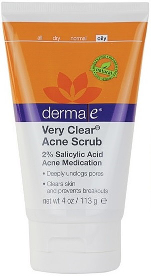 Противоугревой скраб з саліцилової кислотою (2 %) Very Clear® *Derma E (США)*