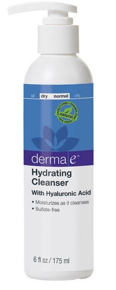 Средство для умывания лица с гиалуроновой кислотой *Derma E(США)*