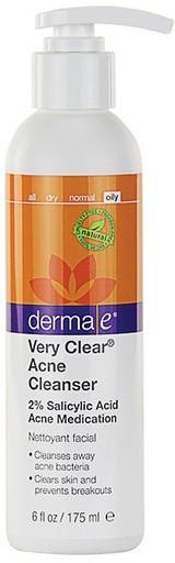 Противоугревое средство для умывания лица Very Clear® *Derma E (США)*